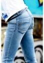 Love2Wait Sophia Zip Pockets Inside- RED, Stone Wash Jeans -  Größe: 36 (W 29); Farbe: stone denim