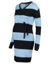 Supermom Kleid Blue Stripe - blau