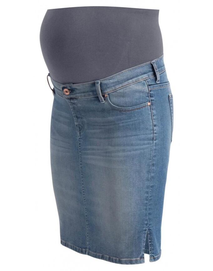 Noppies Jeans skirt OTB Misty blue - blau