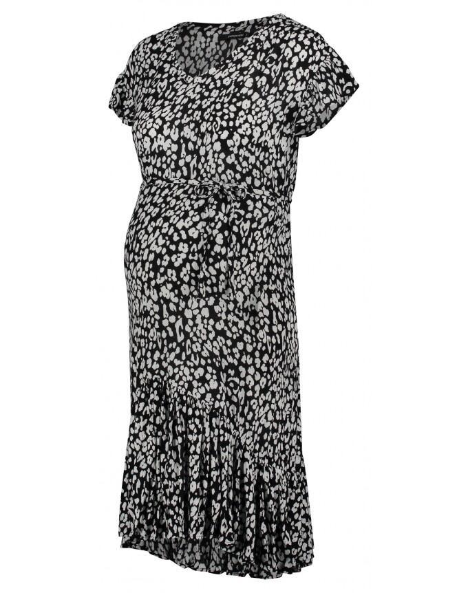 Supermom Kleid Leopard - schwarz