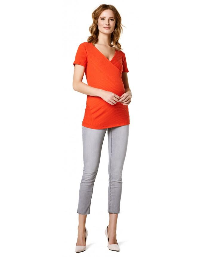 Supermom Still-Shirt Crossed Rib Nurs