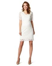 Queen Mum Still-Kleid lace - creme