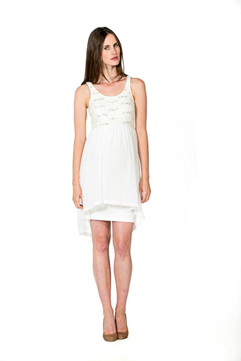 Kleid Viola Bezauberndes Umstands-Brautkleid Hochzeitskleid -...