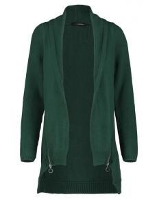 Supermom Strickjacke Green Zip